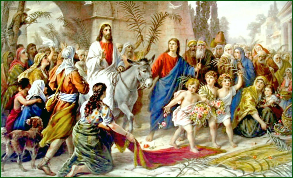Hosanna And Crucify Him! (Palm Sunday 19)