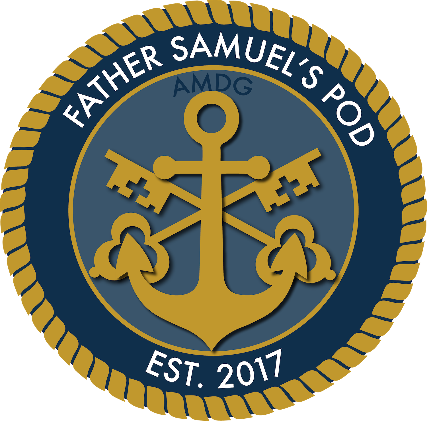 Father Samuel's Pod Logo